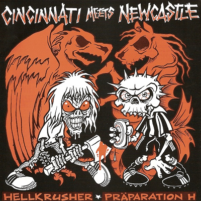 Cincinnati Meets Newcastle - Hellkrusher - Preparation H split EP