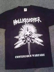 t-shirt - continuous warfare