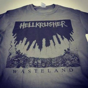 t-shirt - wasteland